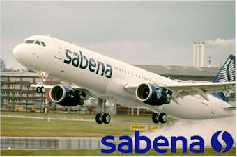Jet airlines test: sabena airlines in-air wallpapers
